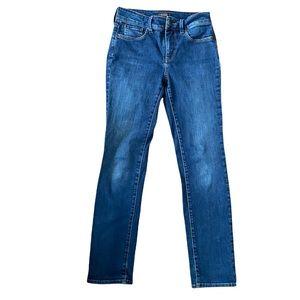 NYDJ Sheri Slim size 2 Liftxtuck jeans